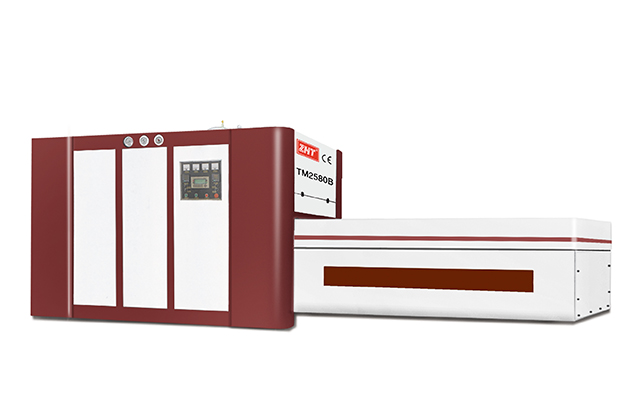 TM-2580B PVC Veneer Vacuum Membrane Laminating Press Machine