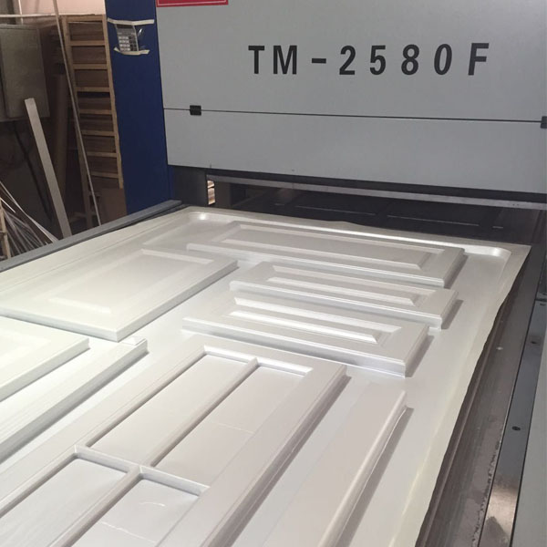 TOP AND BOTTOM VACUUM SYSTEM MEMBRANE PRESS MACHINE