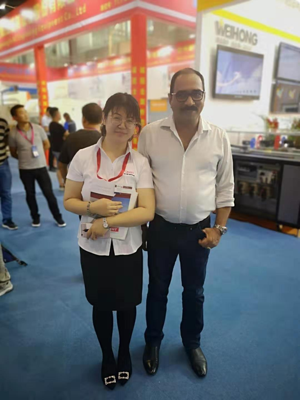 with customer 2