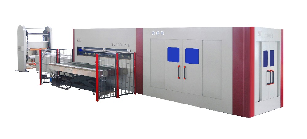 TM3000P-B Air Press Top And Bottom Vacuum membrane Press Machine & Baloon Press lamination With Pin System