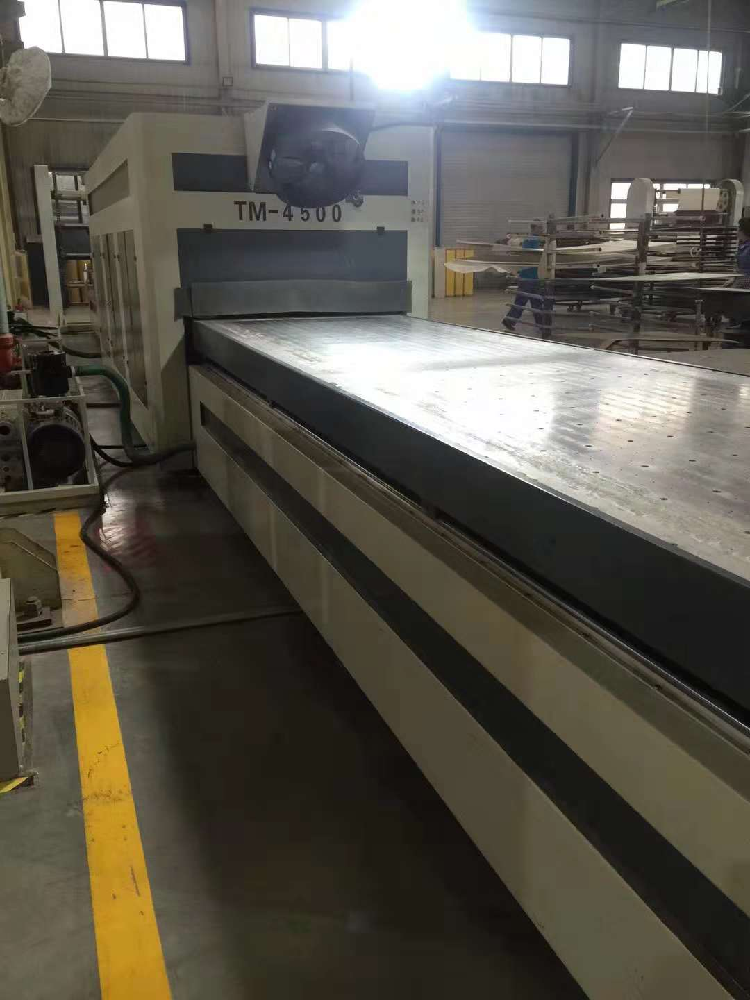 TM4500- press two no paint doors as the same time