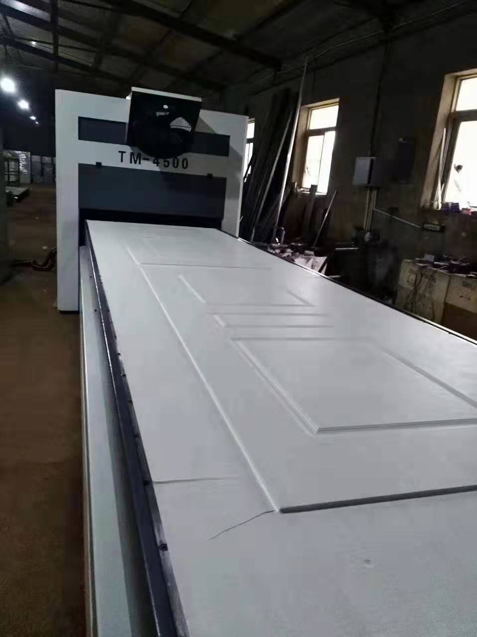 TM4500 Film Laminating Machine for PVC Paint-Free Door